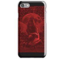 Dark Fairy 1 Red iPhone Case/Skin
