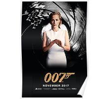 Gillian Anderson as Jane Bond 007 Poster