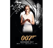 Gillian Anderson as Jane Bond 007 Photographic Print
