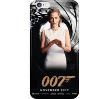 Gillian Anderson as Jane Bond 007 iPhone Case/Skin