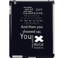 From Aperture With Love iPad Case/Skin