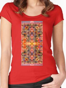 COLORS AND SHAPES FOR ANTI-AGING Women's Fitted Scoop T-Shirt