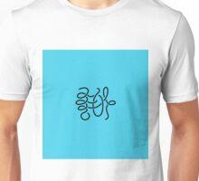 She is [Blue] Unisex T-Shirt