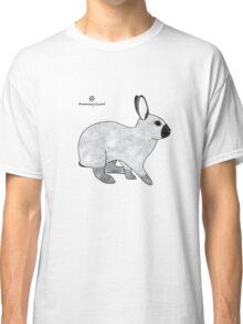 Rabbit Champagne D'Argent Classic T-Shirt