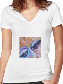 Got the Blues Women's Fitted V-Neck T-Shirt