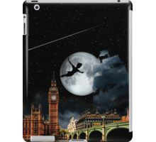Sailing in the Night - Peter Pan London Scene iPad Case/Skin