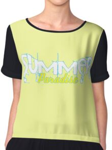 Summer Paradise Chiffon Top