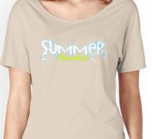 Summer Paradise Women's Relaxed Fit T-Shirt