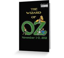 SMT - Wizard of Oz 2012 Official Merchandise Greeting Card