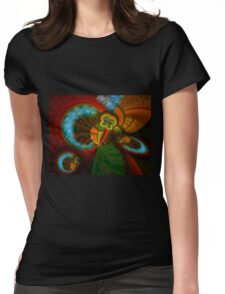 Collective Perspective Womens Fitted T-Shirt