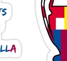 Barcelona 2011 Champions League Final Winners Sticker