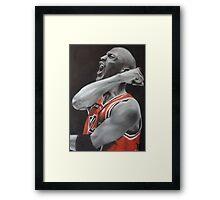 Jordan Airbrush Painting Framed Print