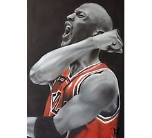 Jordan Airbrush Painting Photographic Print