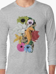 Lizards, Skulls & Flowers Long Sleeve T-Shirt