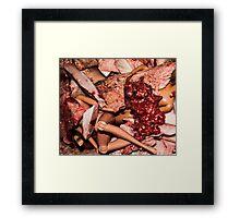 Meat Barbies Framed Print