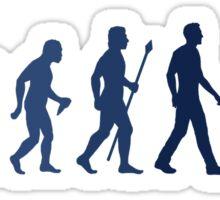 Funny Diving Evolution Shirt Sticker