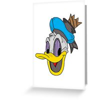 The Donald Greeting Card