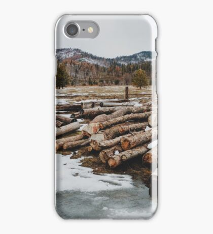 Yosemite Logs iPhone Case/Skin