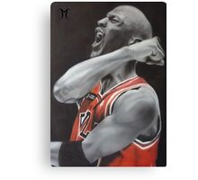 Jordan Airbrush Painting by Jmunz Canvas Print