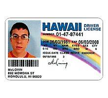 McLoven ID - SuperBad Photographic Print