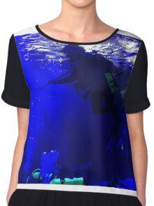 Underwater Swimming Chiffon Top
