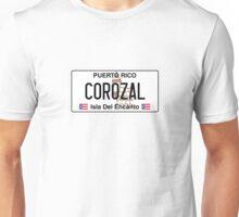PR License Plate - Corozal Unisex T-Shirt