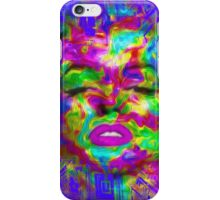 Pop Art, Colorful Abstract Retro Marilyn  iPhone Case/Skin