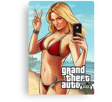 GTA V 5 AB1 Canvas Print