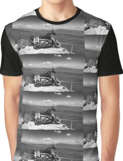 On a rock Graphic T-Shirt