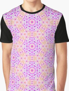 Pink Mexican Pattern Graphic T-Shirt