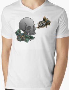 Tattoo inspired design digital Illustration Mens V-Neck T-Shirt