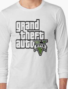 GTA V 5 Five AB2 Long Sleeve T-Shirt