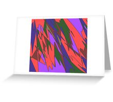 Retro Abstract Greeting Card