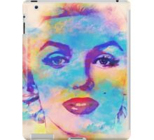 Marilyn Water Color Effect, Digital Art iPad Case/Skin