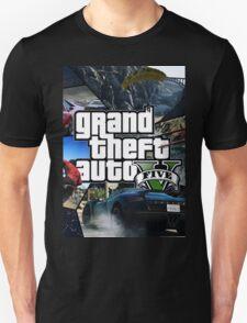 GTA V 5 Five AB4 Unisex T-Shirt