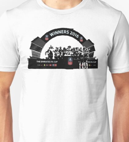 Manchester United FA Cup Winners 2016 Unisex T-Shirt