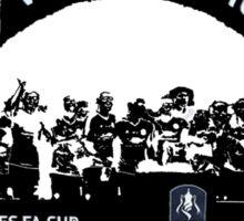 Manchester United FA Cup Winners 2016 Sticker
