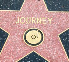 Journey Walk of Fame Star Sticker