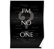 i'm no one Poster