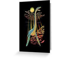 Loch Ness Plesiosaur Greeting Card
