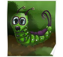 Green Caterpillar  Poster