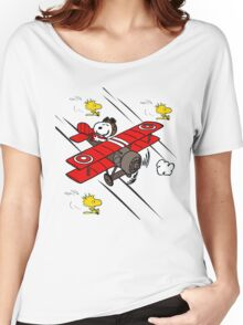 Snoopy Adventure Women's Relaxed Fit T-Shirt