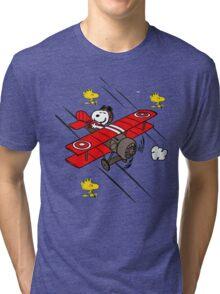 Snoopy Adventure Tri-blend T-Shirt