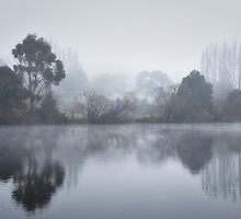 Fog on the Derwent by Karine Radcliffe