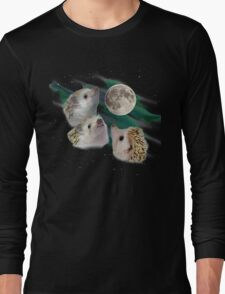 Three Hedgehog Moon Long Sleeve T-Shirt