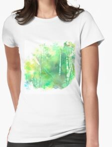 Silent Grove Womens Fitted T-Shirt