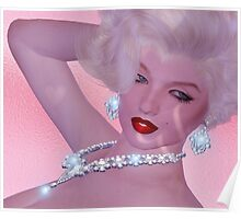 Diamonds are a girl's best friend! Poster