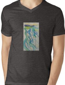 River Mens V-Neck T-Shirt