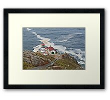 Stairway Leading to Point Reyes Lighthouse Framed Print