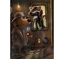 Private Detective Frank Photographic Print